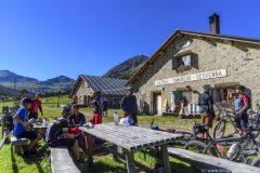 Pause auf einer Alp