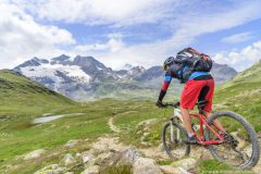 Downhill zum Bernina-Pass