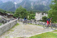 ursprüngliches Dorf im Bergell