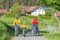 Radtour im Frühling am Bodensee