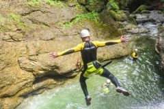 Canyoning Ostertaltobel - Ab in die Tiefe