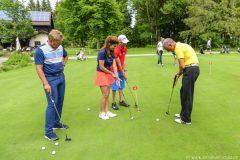 Golfen mit Anleitung
