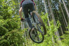 Mountainbike Jump session