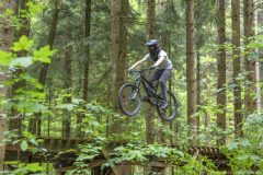 Mountainbike Jumping